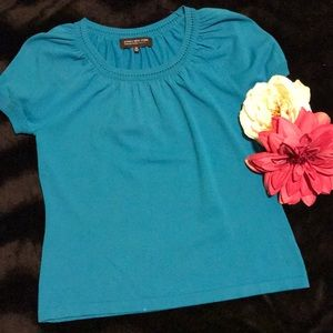 Turquoise pullover, PM